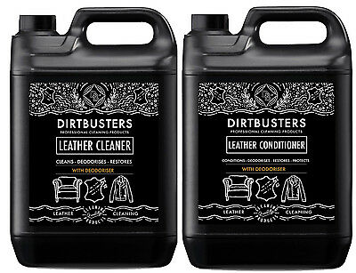 Deodoriser professional Leather cleaner 5 Litre and conditioner 5 Litre