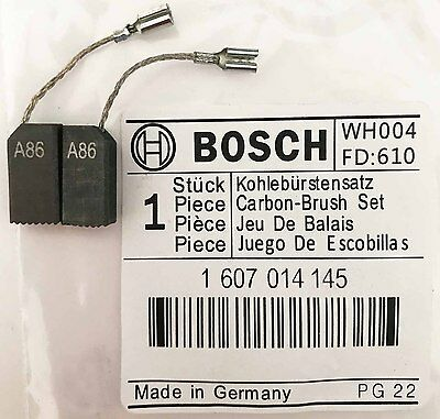 Genuine Bosch Carbon Brushes 1607014145 for GWS 850 C 850 CE Angle Grinder S44