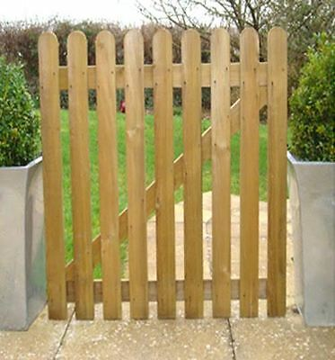 Roro Timber Wooden Picket Garden Gate High Quality Wood Palisade - Choose Height