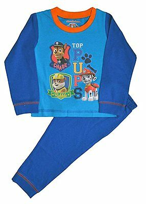 Official PAW PATROL PYJAMAS PJS Boys Kids Toddler Baby Sizes 12 Mths to 4 Years