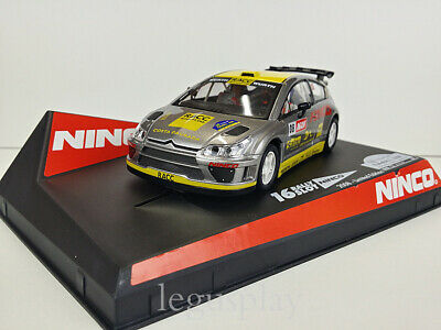 Slot SCX Scalextric  Ninco 50510 Citroen C4 WRC Rally Catalunya 2008 LTED. ED.