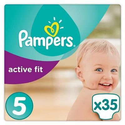 PAMPERS Active Fit Taille 5 - 11 a 23kg - 35 couches - Format pack Géant