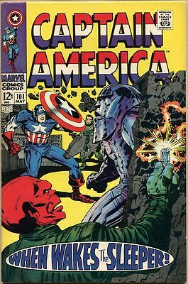 Captain America #101 - VF