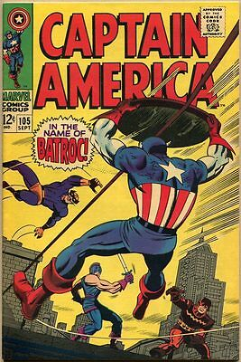 Captain America #105 - FN/VF