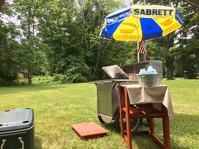 "Sabrett Hot Dogs Cart ""All Star Carts m 100"" Catering Food Trucks stands kiosks"