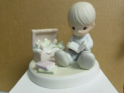 YOU WILL ALWAYS BE A TREASURE TO ME, Precious Moments Figurine By ENESCO PM-971