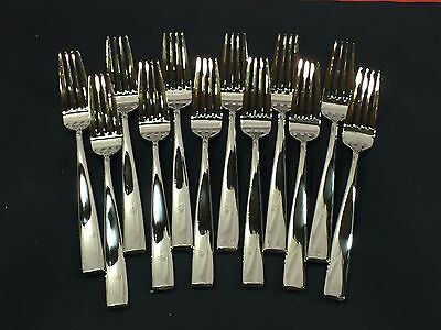"Bon Chef S3017 Manhattan 8 3/8"" 18/8 Stainless Steel Dinner Forks RC"