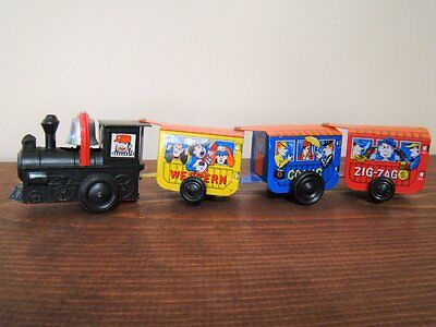 Vintage MTU Korea Wind-Up Western Express Comic Zig-Zag Train