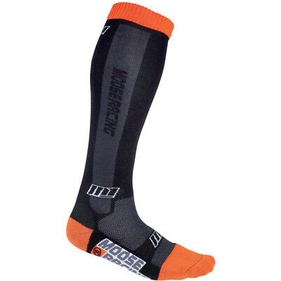 Moose Racing Socken Moose M1 Schwarz/Orange
