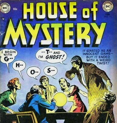 HOUSE OF MYSTERY & HORROR TALES -  369 Vintage Horror Mystery Comics on DVD