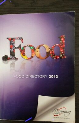 Slimming World Food Directory 2013 29 000 + Products  Red Green & Ex Easy Syns