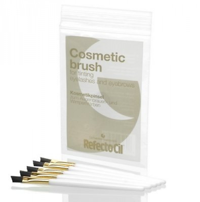 salonsystem RefectoCil Cosmetic Slanted Brush - Pack of 5