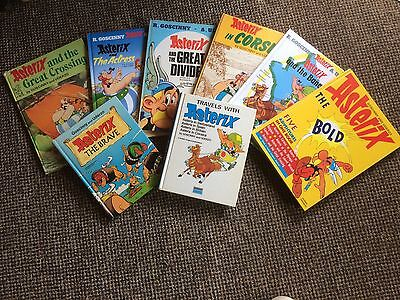 ASTERIX HARDBACK BOOK COLLECTION - Varying Ages