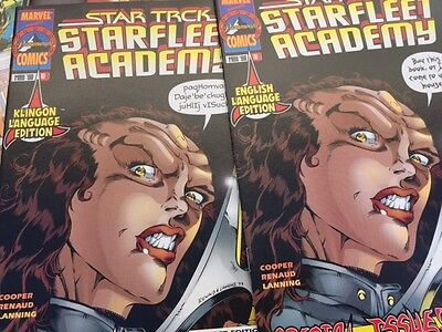 STAR TREK STARFLEET ACADEMY  1 2 3 4 5 6 7 8 9 10 11 12 13 14 15 16 17 18 19 Lot