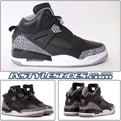 factory authentic 9137e 0a247 Nike Air Jordan Spizike Black Cement Retro 3 4 5 6 315371-034