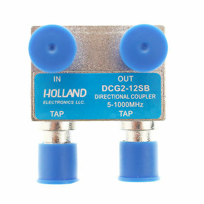Holland Electronics Dcg2-12Sb 2 Port Directional Coupler - 12Db