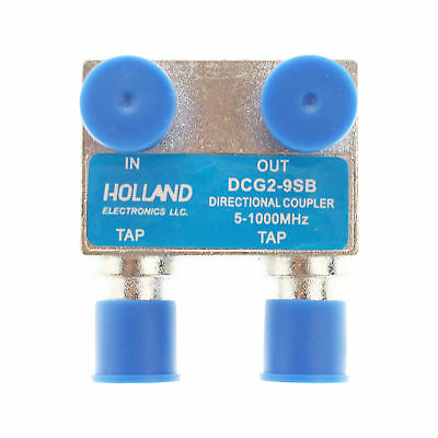 Holland Electronics Dcg2-9Sb 2 Port Directional Coupler - 9Db