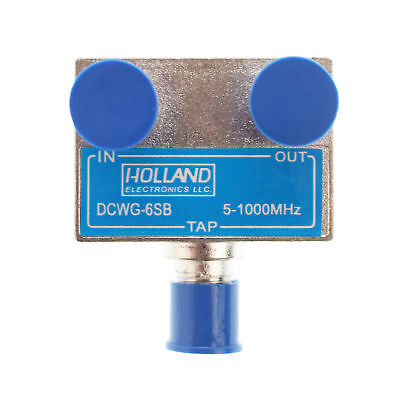 Holland Electronics Dcwg-16Sb Wall Plate Tap / Directional Coupler - 16Db