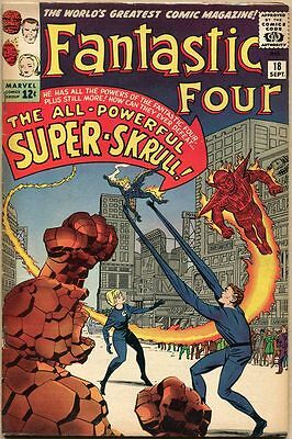Fantastic Four #18 - FN - 1st Appearance Of The Super-Skrull