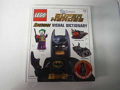 Lego DC Super Heroes Batman Visual Dictionary Exclusive ElectroSuit Hardcover DK