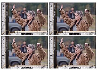 4x COME WHAT MAY CONCRETE CAROL PELETIER The Walking Dead Card Trader Digital