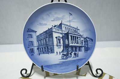 Royal Copenhagen Collector Plate Hamburg Serie 1974 Motive 5 Das Stadt Theater