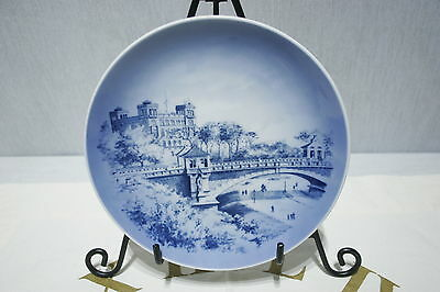 Royal Copenhagen Collector Plate Hamburg Serie 1980 Seewarte in Hamburg 1880