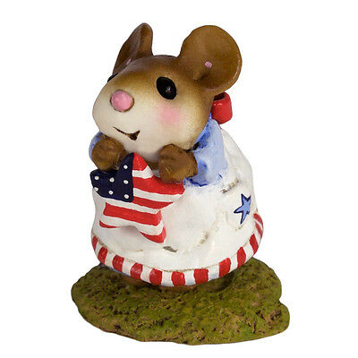 STARLET by Wee Forest Folk, WFF# M-480d,  PATRIOTIC, LTD New 2016