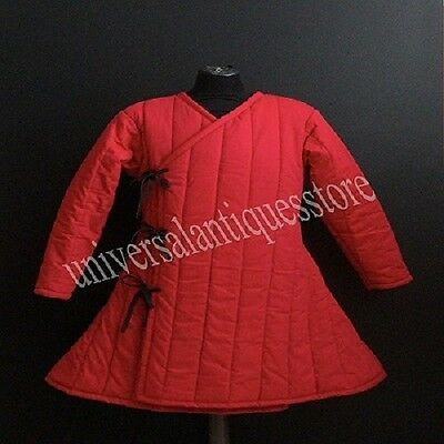 Game of ThrownGambeson Play Movies Custome Sca Medieval Armour Thick Padded Red