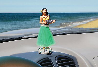 Aloha Hawaiian Hula Girl Car Auto Truck Dashboard Dancing Hawaii Doll Dash Board