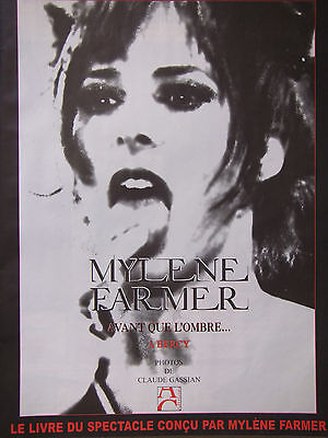 Publicité De Presse 2006 Mylene Farmer A Bercy - Advertising