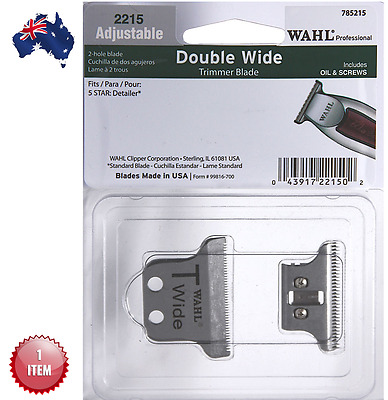 Wahl Double Wide Trimmer Blade For 5 Star Detailer - Aus Seller