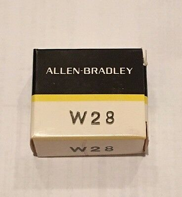 Allen Bradley AB - W28 - Thermal Overload Relay Heater Element - NEW IN BOX