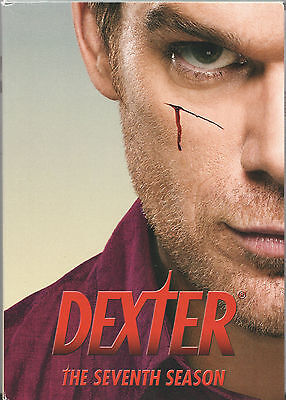 DEXTER - The Complete Seventh Season - Four Disc DVD Set Preowned