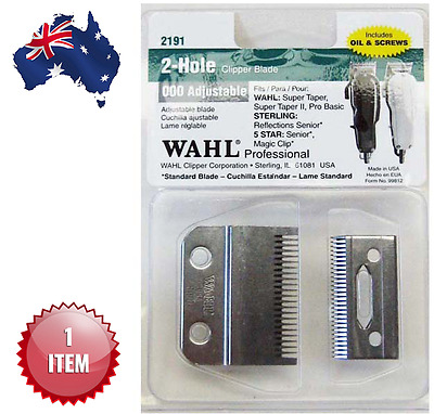 Wahl 2 Hole Clipper Blade For Super Taper, Magic Clip #2191 - Aus Seller