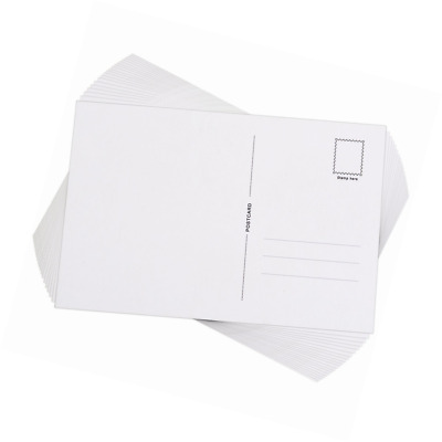 Outus Blank Postcards with Mailing Side, 6 by 4 Inch, 60 Pieces
