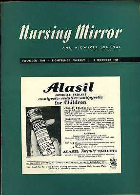Nursing Mirror & Midwives Journal 3rd October 1958