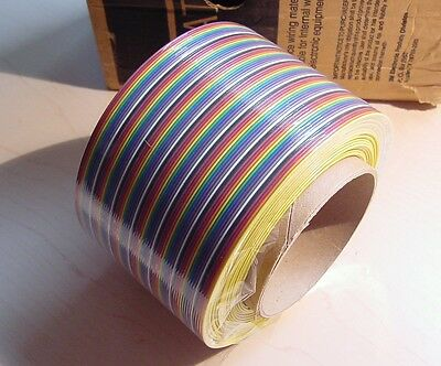 3M Scotchflex Flat Ribbon Cable 3302/64 64-Conductor 28AWG 20' in a 100' box