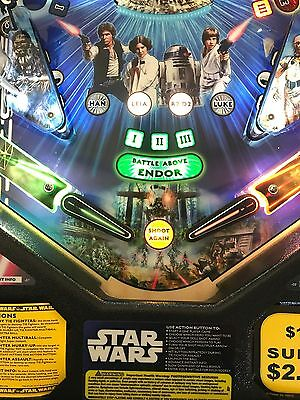 Lightsaber Flipper Bat Topper MODs for Star Wars pinball