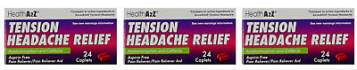 72 Caplets Health A2Z Tension Headache Relief Compare Excedrin Tension Headache