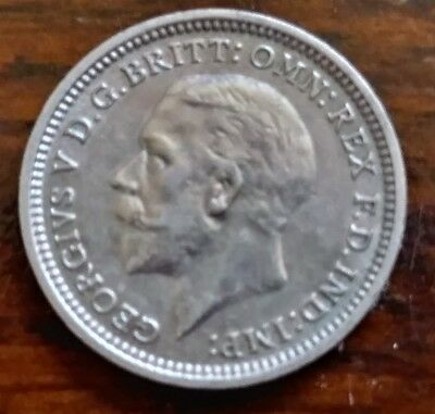 1936 Great Britain Three Pence, Silver