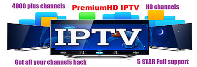 IPTV subscription 1 Month4000+ channels Smart TV, Android,Magbox,Zgemma