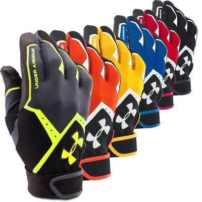 Under Armour Men's UA Clean-Up VI Batting Gloves