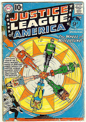 Justice League of America #6 (DC 1961 vg-fn 5.0) guide value: $105.00 (£80)