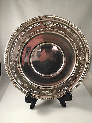 """Birks Sterling Silver 9"""" Plate Tray Sir Christopher Wren Wallace Sir Christopher"""