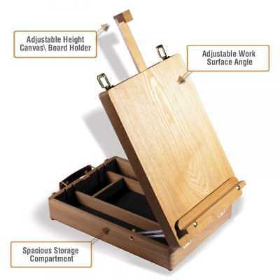 Reeves The Cambridge Easel 270x380x445mm Elm