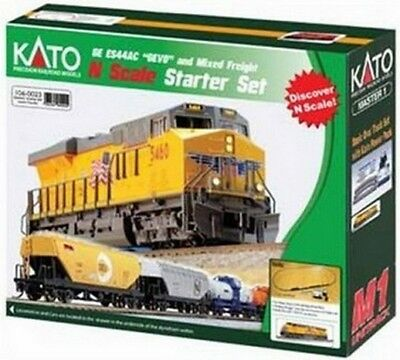Kato N Ess44Ac Gevo Freight Set Up KAT1060023