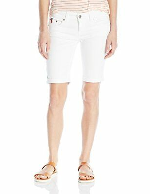 U.S. Polo Assn.. Junior's Cass Bermuda Short Optic White 11, New