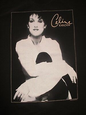 "1996 CELINE DION ""Falling Into You ...Around The World"" Concert Tour (XL) Shirt"