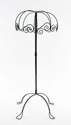 Vintage Wire Umbrella Style Hat Stand with Four Legs